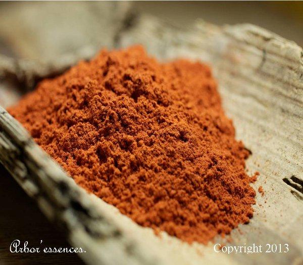 Santal rouge en poudre  Achat  vente Encens en grains Santal rouge  ~ Bois De Santal Rouge